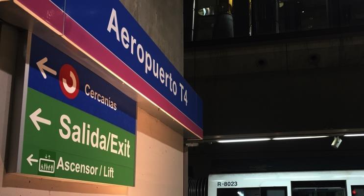 Aeroporto de Barajas ao centro de Madri