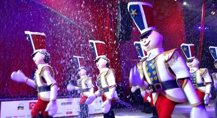 Soldadinhos de chumbo grande desfile de natal