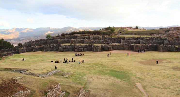 Vista panorâmica de Saqsayhuaman