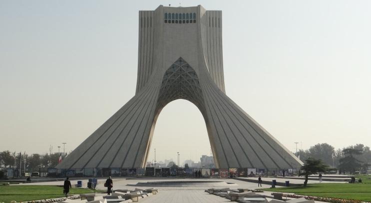 Azadi Tower em Teerã