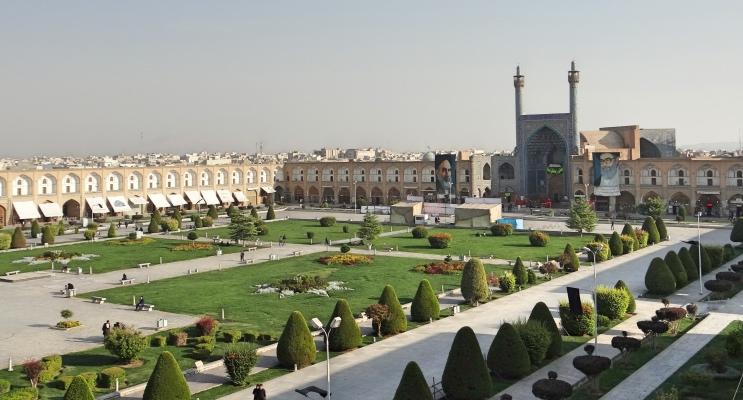 Naqsh-e Jahan Square em Esfahan