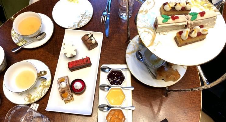 Chá da tarde em Londres