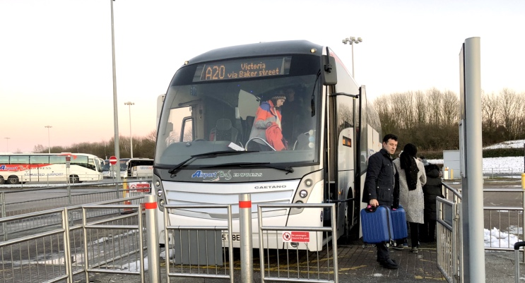 Centro de Londres ao aeroporto Stansted