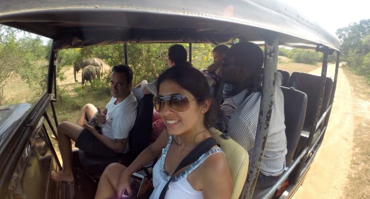 Safári no Sri Lanka